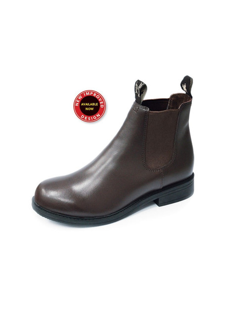 Thomas Cook Kids Boots Clubber Brown Leather (TCP78044 Brown)