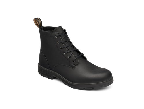 Blundstone 1617 Lace Up Casual Boots in Black Leather (1617)
