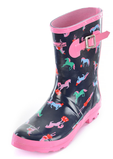 Thomas Cook Kids Circus Horse Rubber Gumboots (T9W58022)