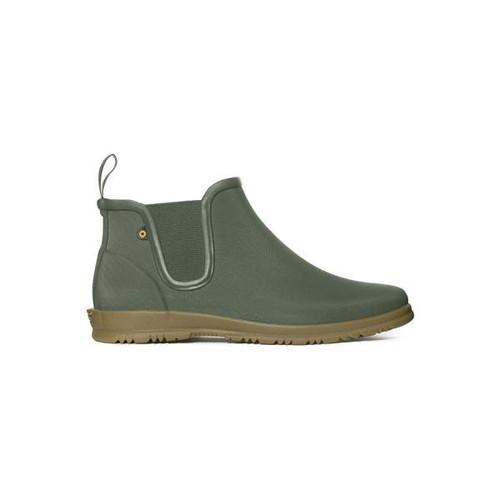 BOGS Sweetpea Chelsea Insulated Waterproof Boots For Women in Sage Green (972198-376)