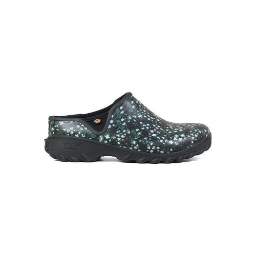 BOGS Sauvie Clog Ditsy Insulated Waterproof Clogs For Women in Black Multi (972353-011)