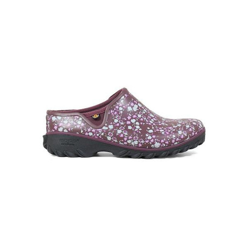 BOGS Sauvie Clog Ditsy Insulated Waterproof Clogs For Women in Violet (972353-512)
