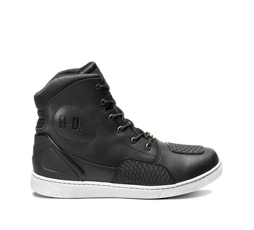 Outer View Harley Davidson Holtman Waterproof Riding Sneaker in Black (D96187-Black)