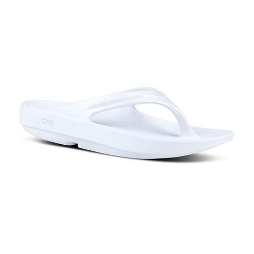 Oofos OO-la-la Thongs - Flip Flops Womens White (1400WHT)