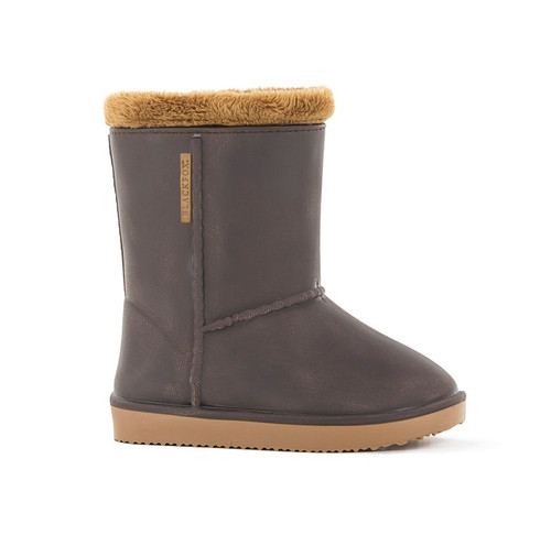 Blackfox Kids Cheyenne French Designed Waterproof Gumboots in Brown (AJS-CHEYENNECB)