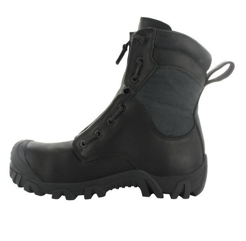 Side View Magnum Vulcan Lite CT CP WPi Lightweight Waterproof Safety Fire Boots with Lace In Zip (MVL200)