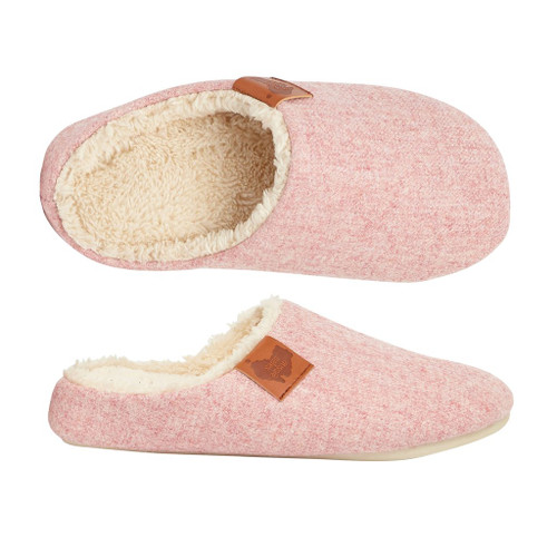 Aussie Soles Memory Foam Slippers in Light Pink (MFS-LPink)