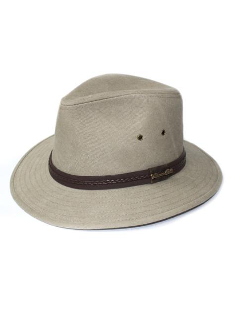Thomas Cook Kununurra Hat In Stone Cotton Polyester (TCP1940HAT)