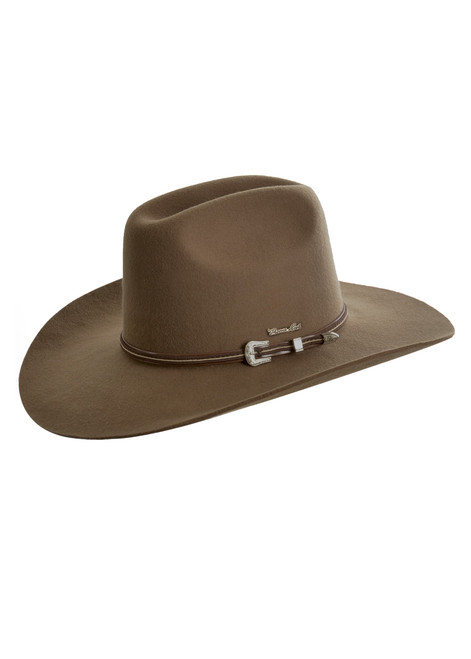 Thomas Cook Bronco Hat Made From Pure Wool Felt in Fawn (TCP1934002 Fawn)