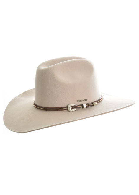 Thomas Cook Bronco Hat Made From Pure Wool Felt in Bone (TCP1934002 Bone)