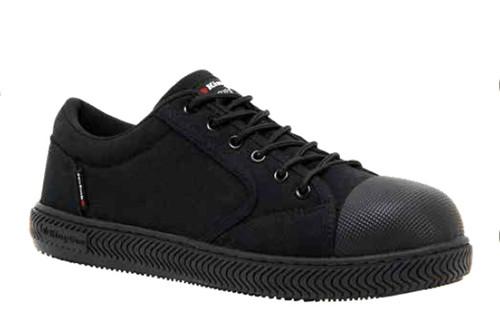 KingGee Grip 3000 Mens Steel Cap Slip Resistant Canvas Safety Shoes (K26540)