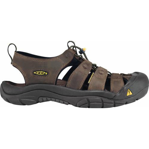 Keen Newport Men's Outdoor Leather Sandal in Bison (1001870)
