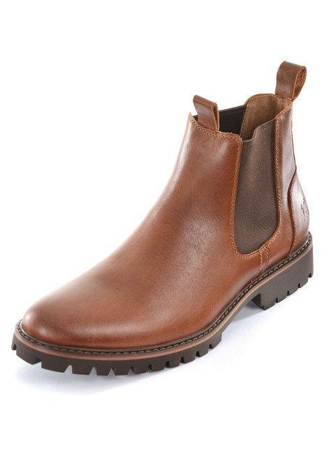 Thomas Cook Jackson Leather Lined Leather Boots in Brown (T9W18194)