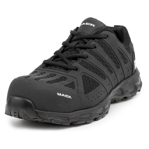 Mack Boots Vision Composite Toe Athletic Safety Shoes Black (MK0VISION-BLK)