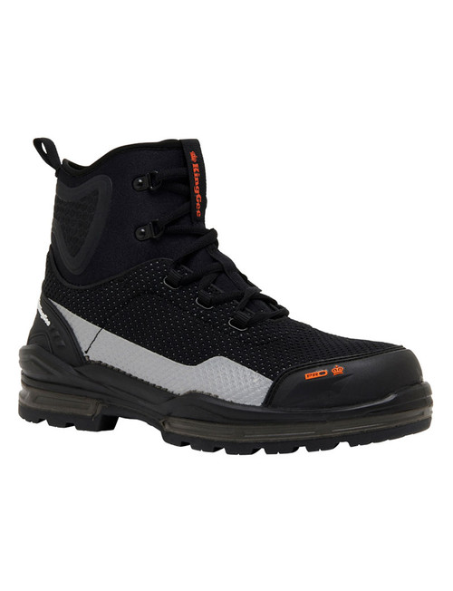KingGee ProCool Mesh Upper Boots with Composite Toe Cap and Neoprene Ankle Protection (K27185)