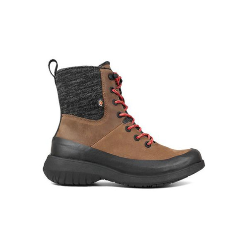 BOGS Freedom Lace Insulated Waterproof Boots in Cognac (972412-228)
