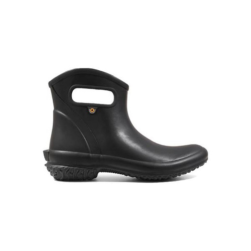 BOGS Patch Ankle Boot Waterproof Gumboots in Black (972521-001)