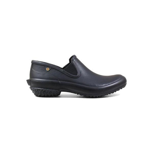 BOGS Patch Slip On Solid Waterproof Shoes in Black (972540-001)