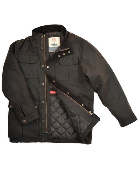 Thomas Cook Tarcutta Mens Oilskin Jacket (TCP1712408)