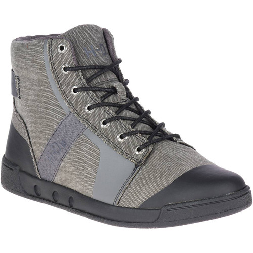 Harley Davidson Pendell Canvas Riding Sneaker in Grey (D93644 Grey)