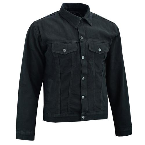 Johnny Reb Glenbrook Kevlar® Lined Protective Jacket In Black Denim (JRJ10025)