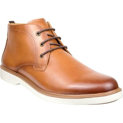Florsheim Supacush Plain Toe Chukka Boot in Rich Tan Leather (161149-271)