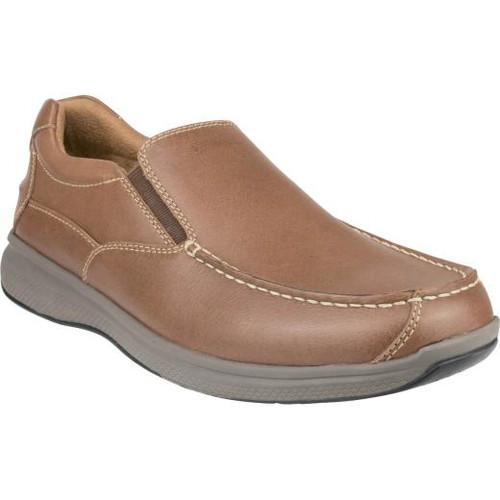 Florsheim Great Lakes Moc Toe Slip On Shoe in Cedar Leather (181091-240)