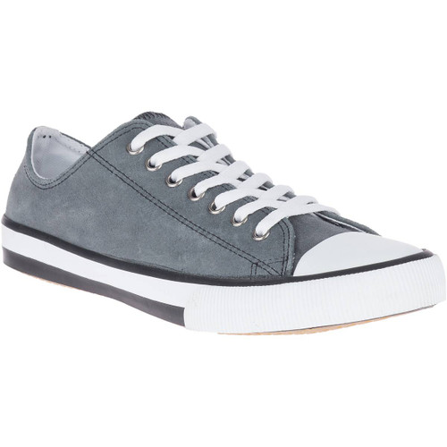 Harley Davidson Claymore Low Leather Riding Sneaker in Grey (D93677 Grey)