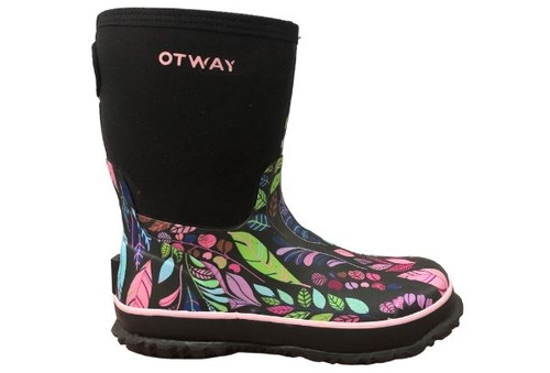 Otway Stroller Mid Insulated Ladies Waterproof Gumboots in Rainbow (OW0150)