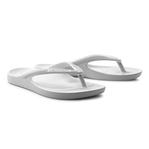 Lightfeet Revive Arch Support Thongs White (Revive White)