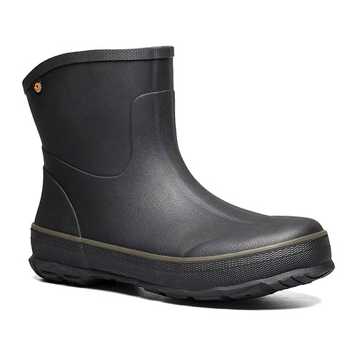 BOGS Digger Mid Slip On Mens Insulated Waterproof boots in Black (972668-001)