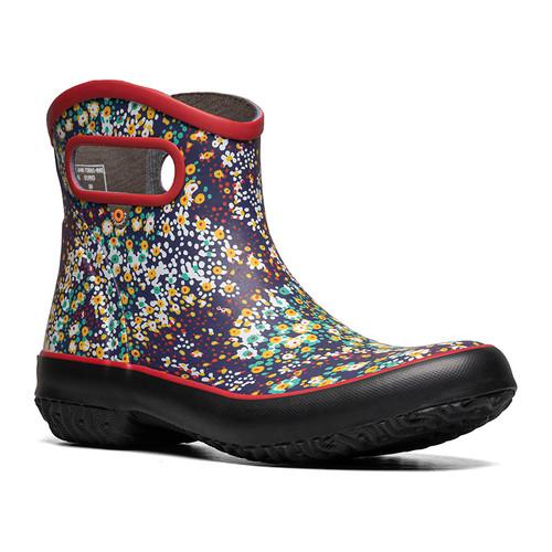 BOGS Patch Boot Jamboo Waterproof Gumboots in Cherry (972681-606)