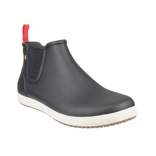 BOGS Mens Kicker Rain Boot Waterproof Gumboots in Black (978840-001)