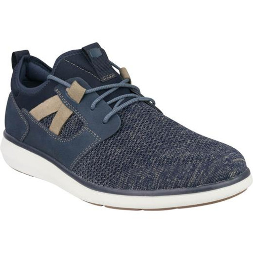 Florsheim Venture Knit Plain Toe Sneaker in Navy (171340-410)