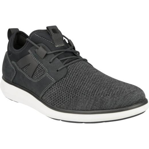 Florsheim Venture Knit Plain Toe Sneaker in Black (171340-001)