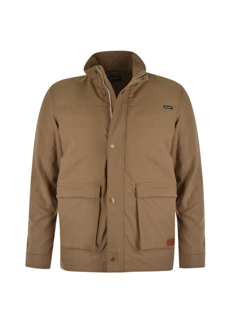 Wrangler Mens Anderson Jacket with Sherpa Lining (X1W1771620)