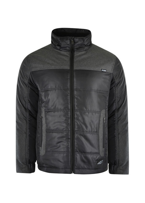Pure Western Mens Usher Puffer Jacket with Detachable Hood (P1W1703404)