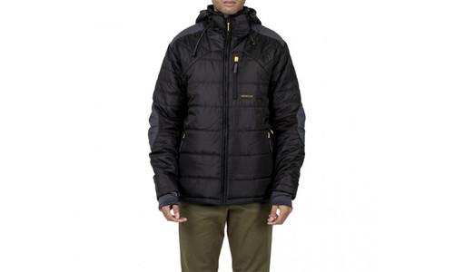 Cat Workwear Triton Insulated Puffer Jacket in Black (1310075-016)