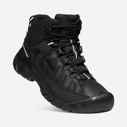 Keen Targhee Mid Exp Waterproof Hiking Boots in Black Black (1023021)