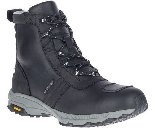 Harley Davidson FXRG-6 V Hike Full Grain Waterproof Leather Hiking Style Riding Boots (D96230 Black)