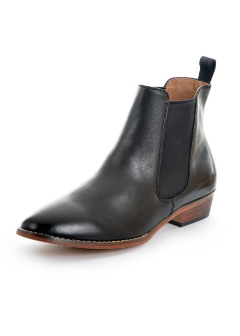 Thomas Cook Women's Chelsea Leather Boots in Black (TCP28319)