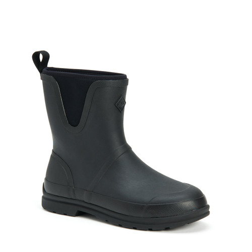 Muck Boots Originals Mid Insulated Waterproof Boots in Black (SOMM-000)
