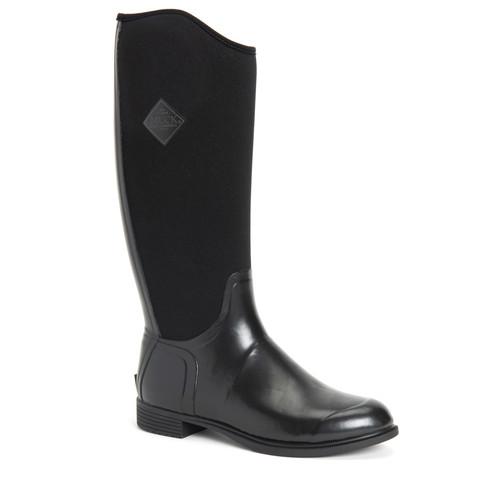 Muck Boots Derby Tall Women's Waterproof Equestrian Boots in Black (SDBYT-000)