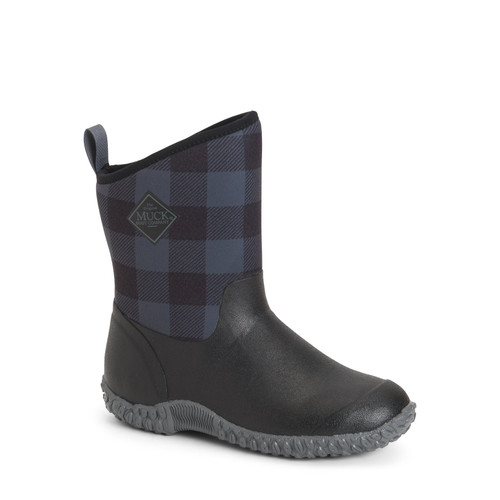 Muck Boots Muckster II Womens Mid Height Cozy Fleece Insulated Waterproof Boots in Plaid (SWM2-1PLD)