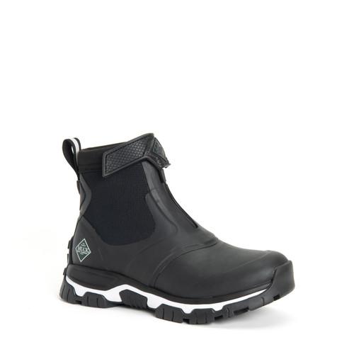 Muck Boots Apex Mid Zip Womens Insulated Waterproof High Performance Boots incBlack (SAXWZ-000)