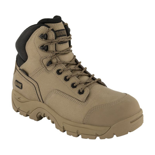 Magnum Precision Max Stone Zip Sided Waterproof Composite Toe Work Boots (MPN150)