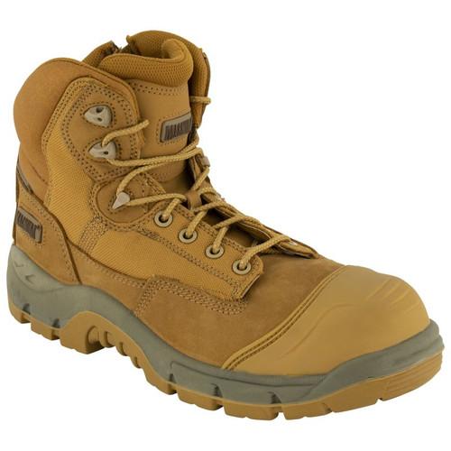 Magnum Sitemaster Lite CT SZ Zip Sided Composite Toe Work Boots (MSMR100 WTE)