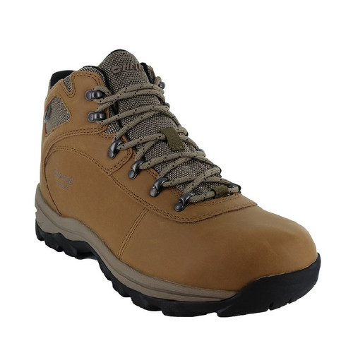 HI-TEC Altitude Base Camp Lite WP waterproof, breathable mens hiking boots with rubber sole (HOMAB110 TDB)