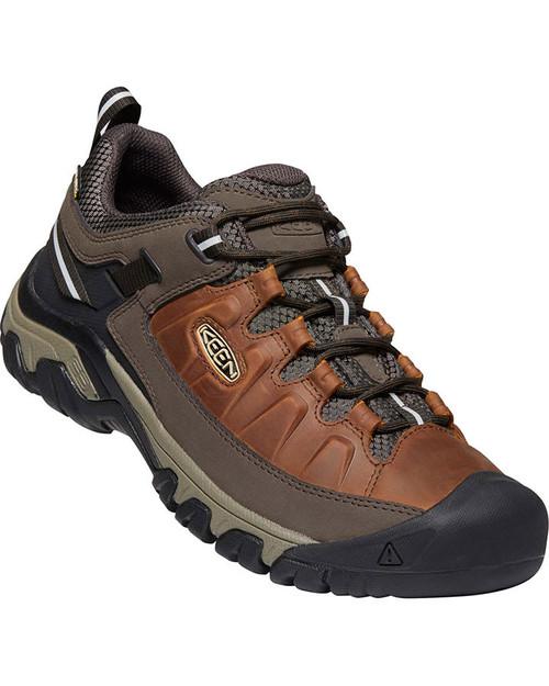 Keen Targhee III Waterproof Men's Hiking Shoes in Chestnut Mulch (1023027)