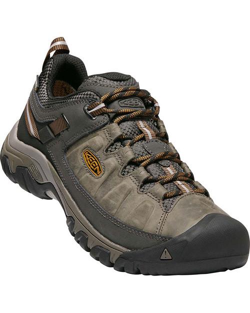 Keen Targhee III Waterproof Men's Hiking Shoes in Black Olive Golden Brown (1017784)